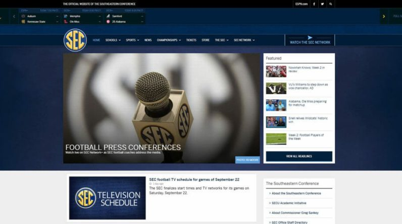 How To Watch Sec Network 5 Ways To Live Stream Increase Your