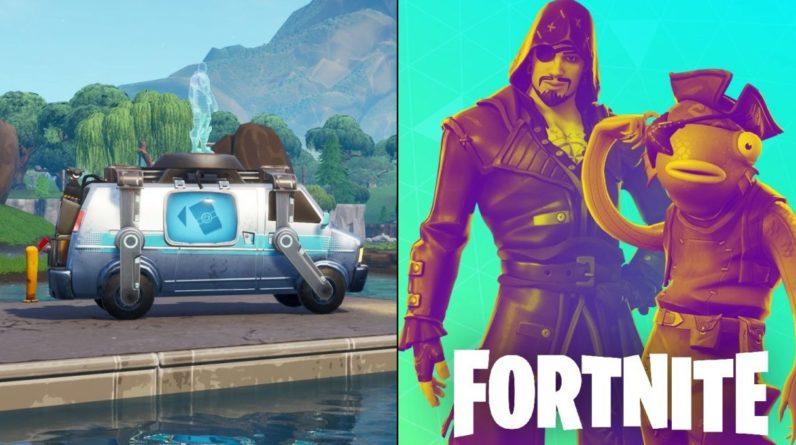 Official Fortnite Twitch stream accidentally leaks new Respawn Vans